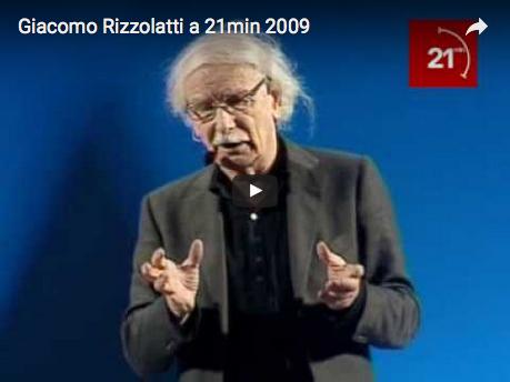 Giacomo Rizzolatti a 21min 2009